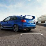 Subaru WRX STI 2018 trasera circuito