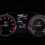 Subaru WRX STI 2018 cuadro velocidad